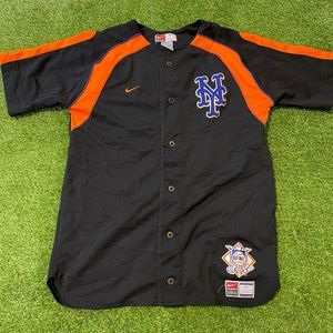 NIKE NEW YORK METS Baseball Jersey Youth L Mens S